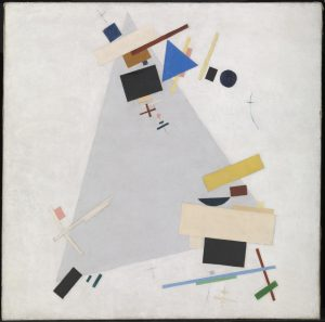 Dynamic Suprematism 1915 or 1916 Kazimir Malevich 1879-1935 Purchased with assistance from the Friends of the Tate Gallery 1978 http://www.tate.org.uk/art/work/T02319