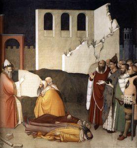 シルウェステル1世の人生(ドラゴンを退治した聖シルウェステル)