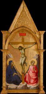 キリスト磔刑と聖母と伝道者ヨハネ