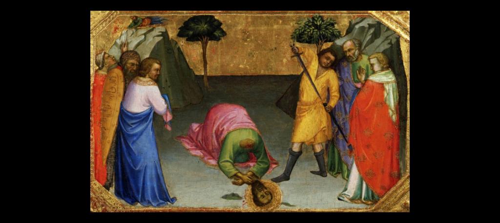 聖パウロの斬首刑