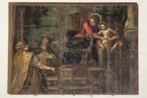 聖母子と聖ジョヴァニーノ