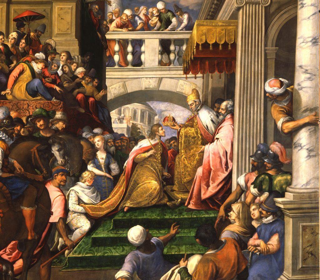 ボードゥアン一世のラテン帝国皇帝戴冠