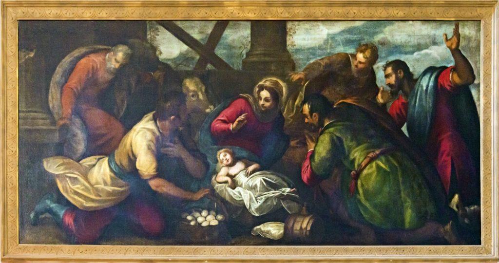 聖母子と羊飼い
