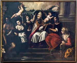 大聖グレゴリウスと聖人たち