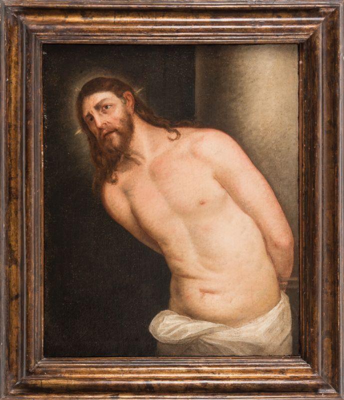 円柱に縛られたキリスト