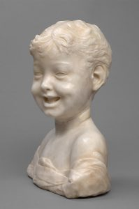 Cat. No. 9 | File Name: 248-016.jpg Desiderio da Settignano (c. 1429 - 1464) Laughing Boy, c. 1460-1464 marble Kunsthistorisches Museum, Vienna, Bequest of Gustav Benda