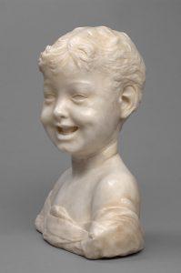 Cat. No. 9 | File Name: 248-016.jpg Desiderio da Settignano (c. 1429 - 1464) Laughing Boy, c. 1460-1464 marble Kunsthistorisches Museum, Vienna, Bequest of Gustav Benda