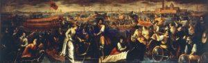 カテリーナ・コルナーロ女王のヴェネツィア到着