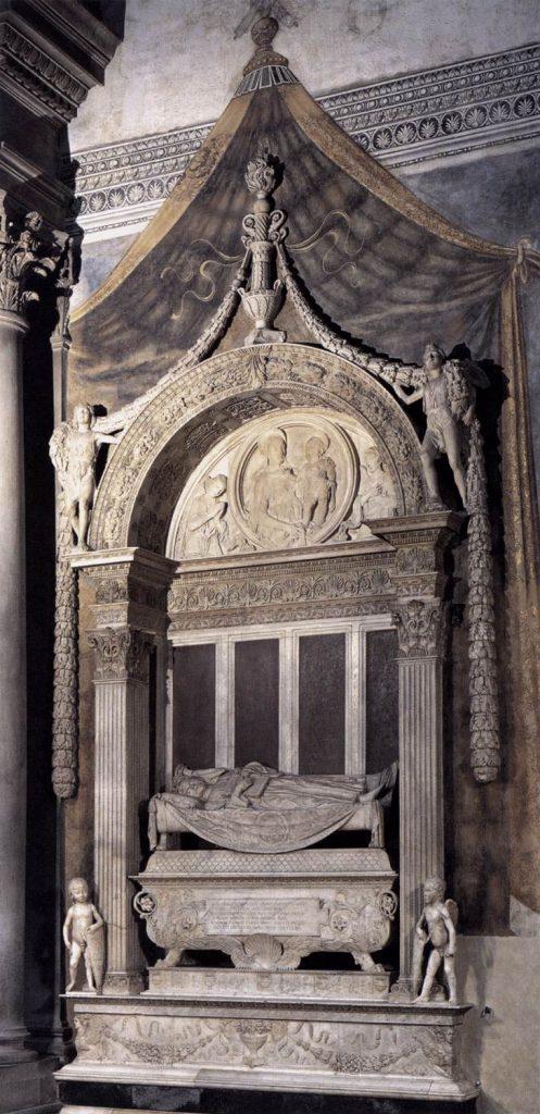 カルロ・マルスッピーニの墓碑