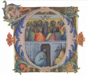 装飾文字D:バチカンのペンテコステ