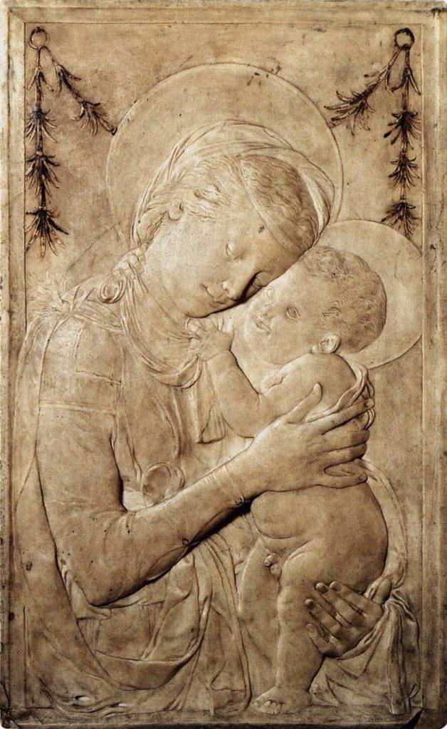聖母マリアと子供