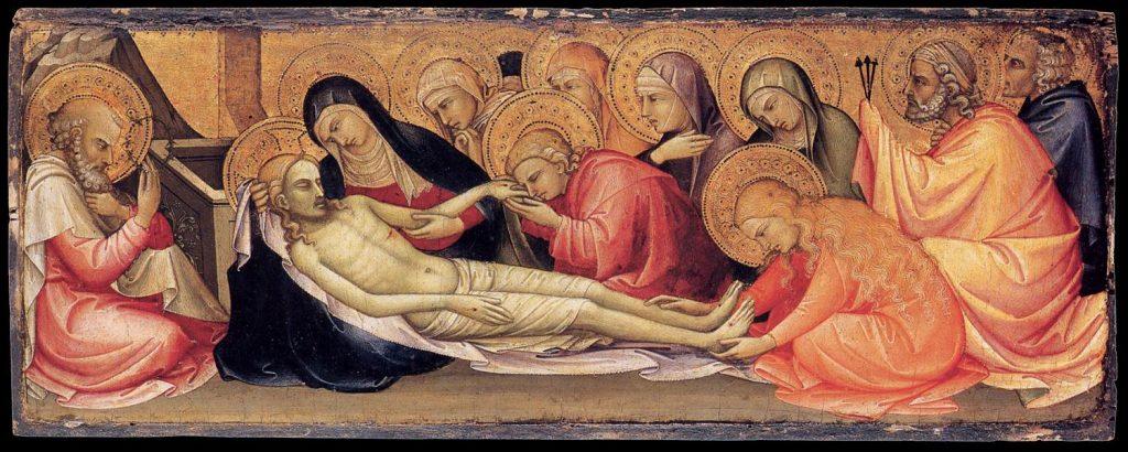 死せるキリストへの嘆き